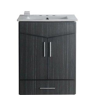 Keels 21 Wall-Mounted Single Bathroom Vanity Set by Orren Ellis