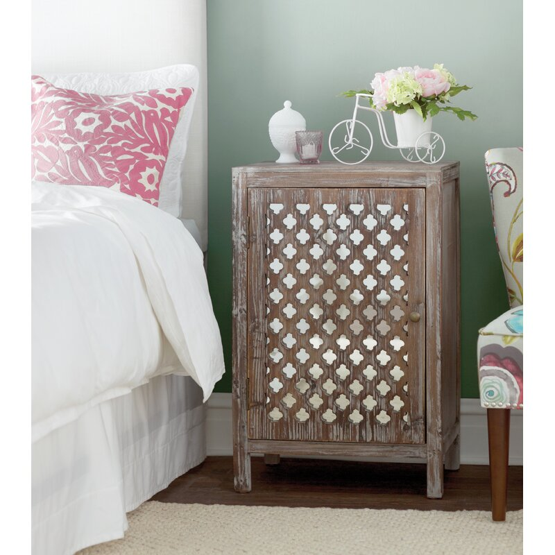 Bungalow Rose Heidi End Table With Storage