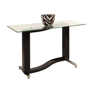Fenya Console Table by Chintaly Imports