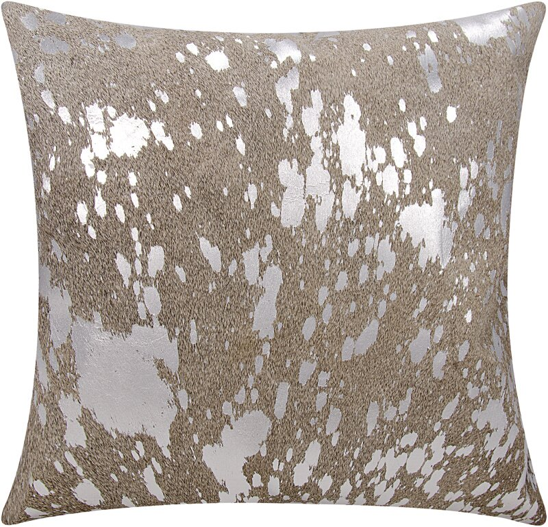 Willa Arlo Interiors Stacia Metallic Splash Throw Pillow Reviews Wayfair