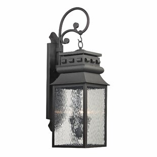 Comparison Crepeau 3-Light Outdoor Wall Lantern By Bloomsbury Market