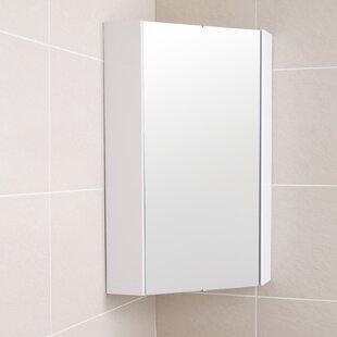 Delaware 32 4cm X 65cm Corner Mount Mirror Cabinet