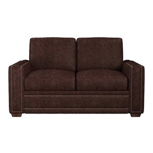 Dallas Leather Loveseat