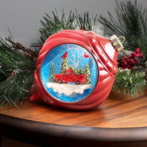 Red Vintage Truck Christmas Wayfair