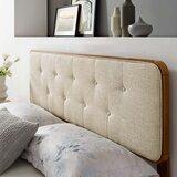 Bojanka Upholstered Panel Headboard by Latitude Run®
