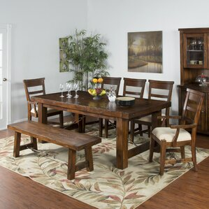 Hardin Extendable Dining Table by Loon Peak