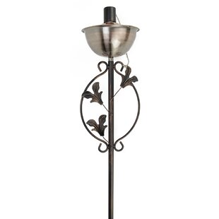 Northlight Seasonal Floral Motif Garden Torch