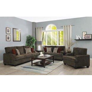 Alcott Hill Carrillo 3 Piece Living Room ..