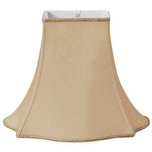 Budget 12 Silk/Shantung Bell Lamp Shade By Alcott Hill