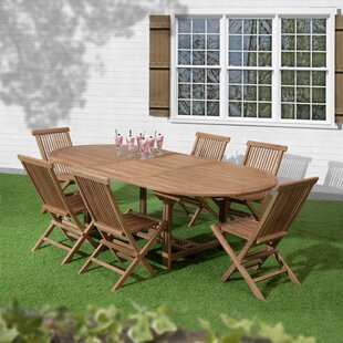 Lambert 6 Seater Dining Set By Sol 72 Outdoor