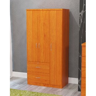 Quinn Maple 3 Door Armoire