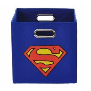 Clearance Superman Logo Toy Storage Bin ByModern Littles