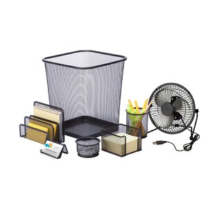 Honey Can Do Desk Essential Supplies Organizer Kit
