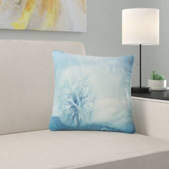August Grove Wagenen Kathleen S Geraniums Ii Throw Pillow Reviews Wayfair