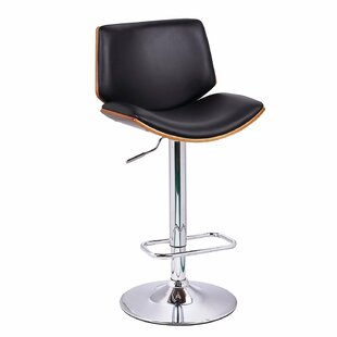 Slocum Adjustable Height Swivel Bar Stool Brayden Studio