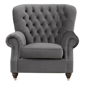 Stiles Platinum Armchair by Alcott Hill