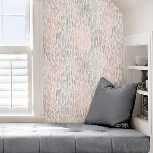 Greenway Blush 18 L X 20 5 W Texture And Stick Wallpaper Roll