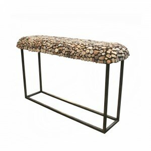 Bellini Modern Living Pebble Console Table