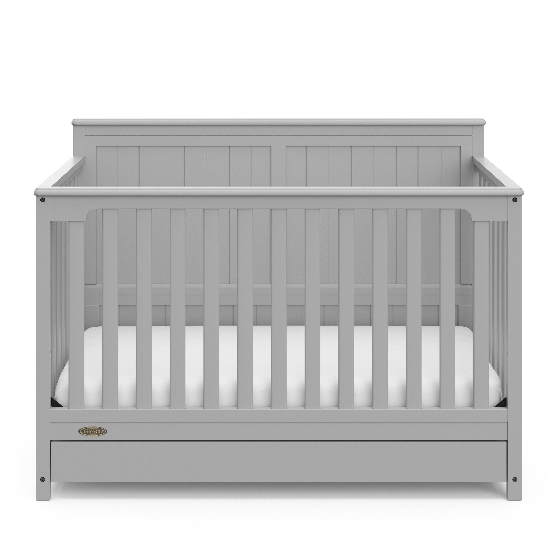 Graco Hadley 4 In 1 Convertible Crib With Storage Reviews Wayfair