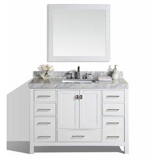 Laub 61 Single Bathroom Vanity Set with Mirror ByHouse of Hampton