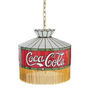 Meyda Tiffany Coca-Cola Fringed 6-Light Pool Table Lights Pendant