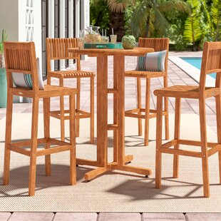 Elsmere 4 Piece Bar Height Dining Set