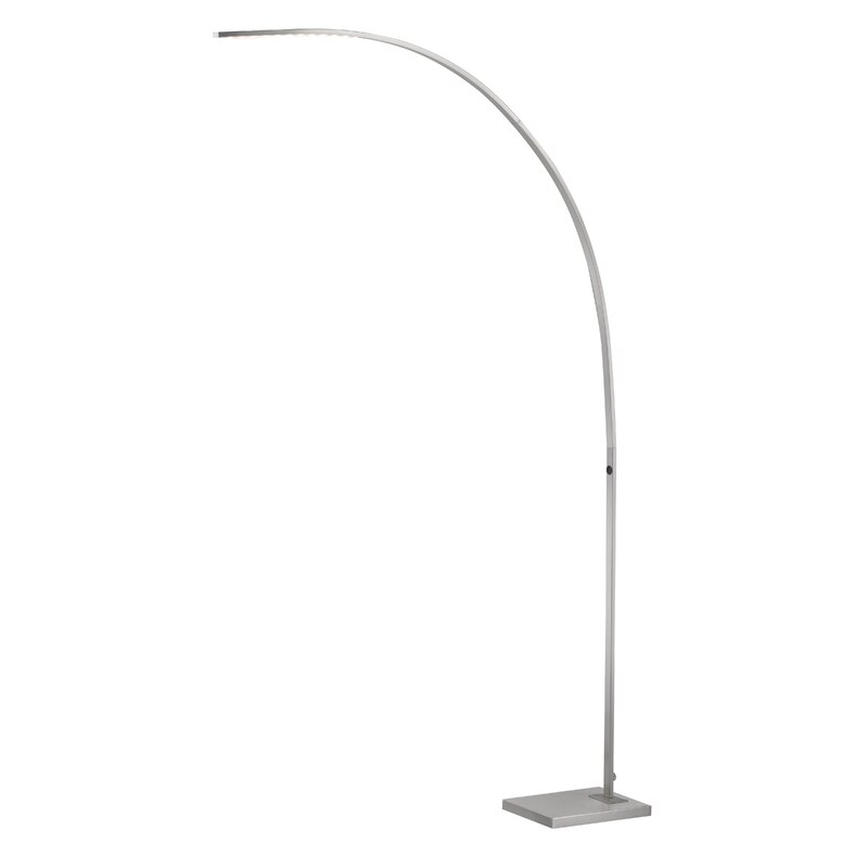 Sonic 91 Quot Led Arched Floor Lamp Amp Reviews Allmodern