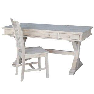 Alcott Hill Greenock Writing Desk and Chair ..
