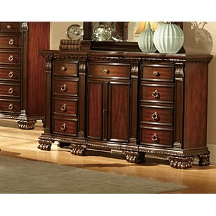 Orleans 9 Drawer Combo Dresser by Woodhaven Hill New
