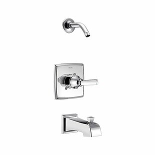Price comparison Ashlyn Pressure Balance Tub and Shower Trim with Metal Lever Handle and Monitor By Delta