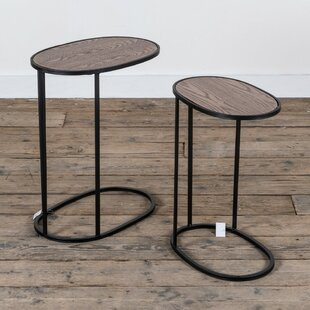 Eaman 2 Piece Nest Of Tables By Mercury Row