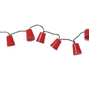 1.36 ft. 10-Light Novelty String Light by DEI