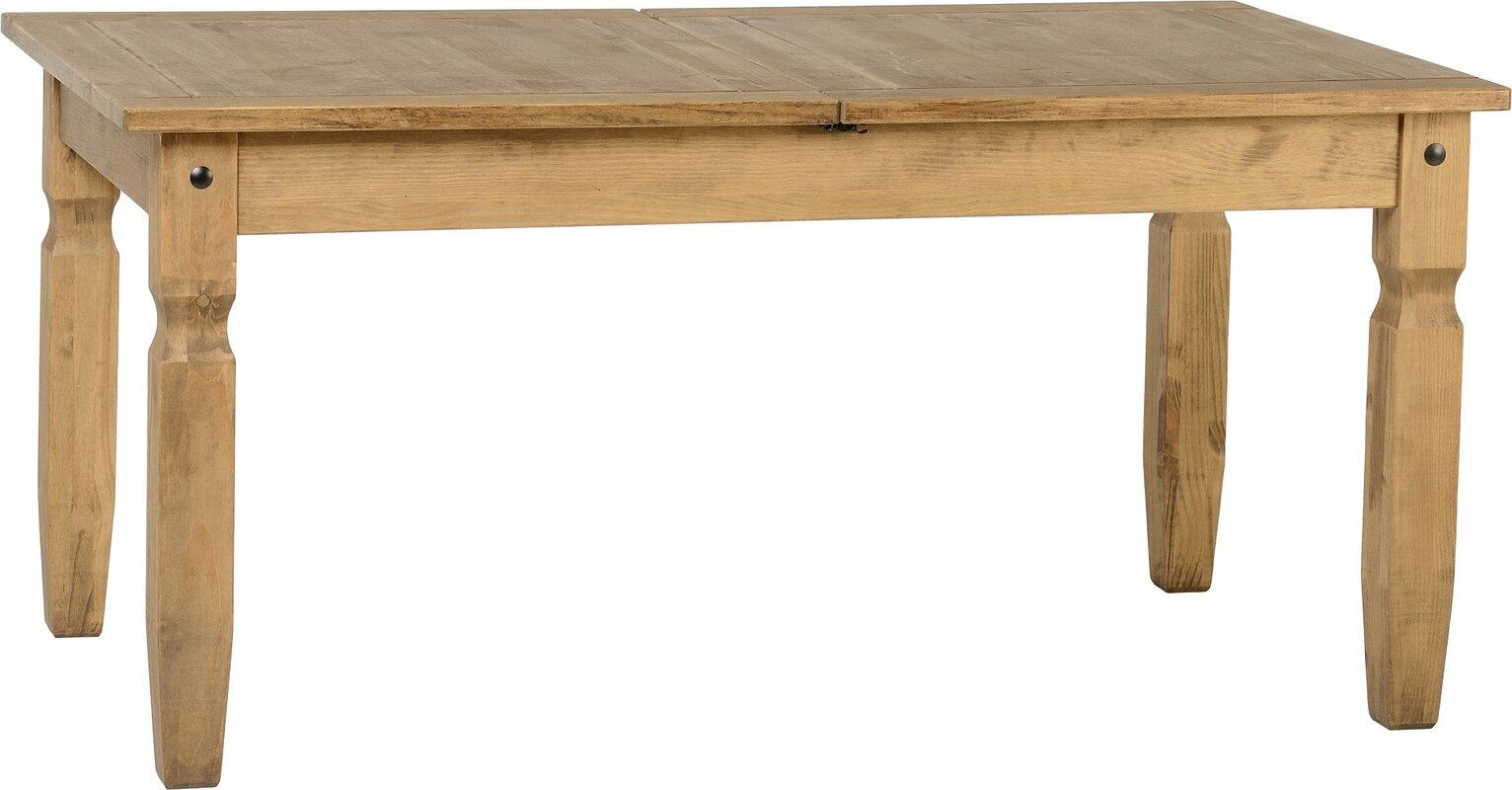 Home Amp Haus Classic Corona Extendable Dining Table