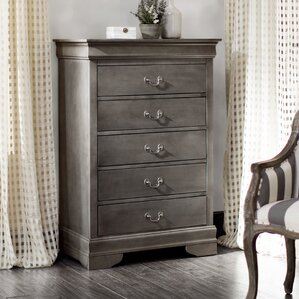 Corbeil 5 Drawer Chest by Lark Manor