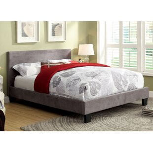 Crestline Upholstered Platform Bed by Wrought Studio Cool
