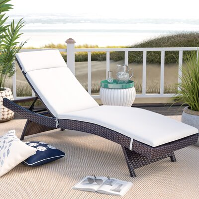 Cushioned Outdoor Chaise Amp Lounge Chairs You Ll Love In