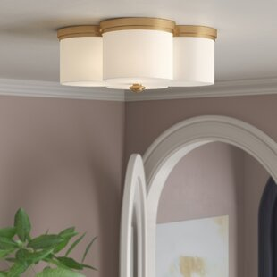 Reviews Destan 2-Light Flush Mount By Willa Arlo Interiors