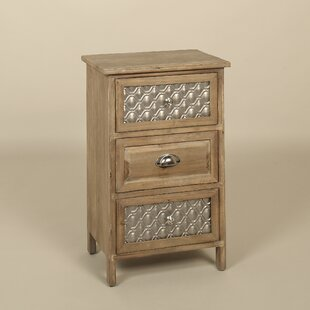 Dondale 3 Drawer Nightstand