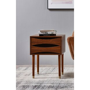 Dawson End Table with Storage by VERSANORA