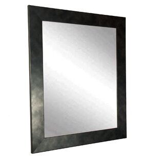 Williston Forge Bedlington Vintage Black Vanity Wall Mirror
