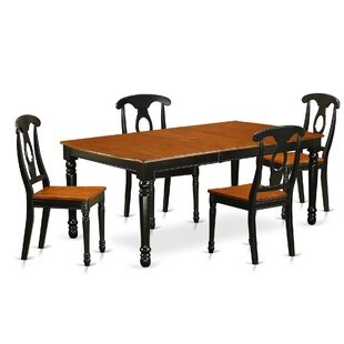 Pimentel 5 Piece Dining Set August Grove