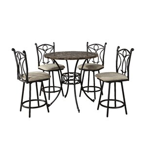 Red Barrel Studio Armetta Counter Height Dining Table