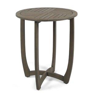 Bungalow Rose Rodarte Wooden Bistro Table