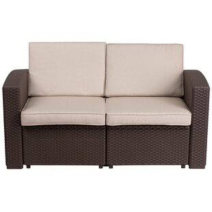 Clifford Loveseat with Cushion by Breakwater Bay