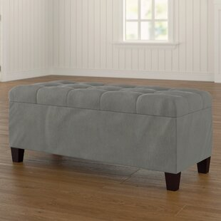 Compare prices Alfraye Storage Ottoman By Charlton Home