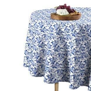 Leaves Round Tablecloth