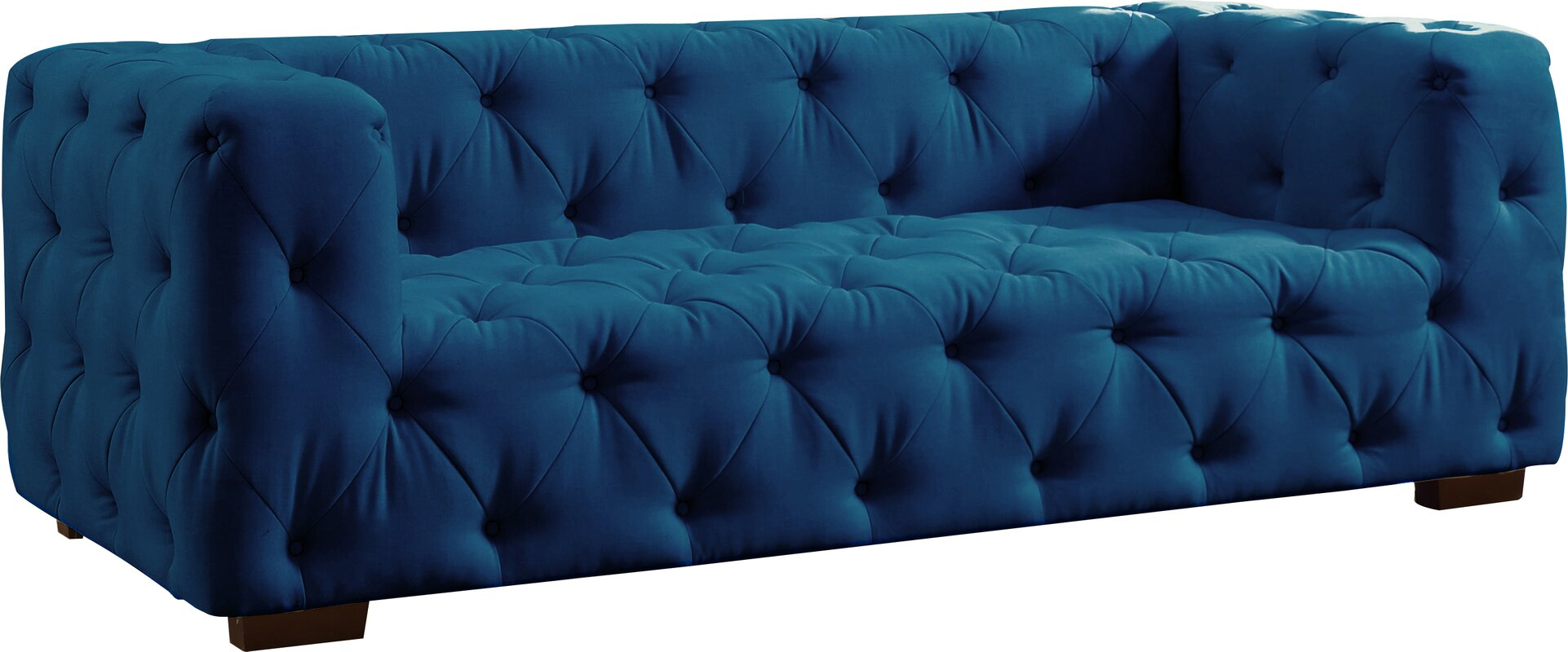 Teal Chesterfield Sofa abadie tufted large chesterfield sofa reviews joss
