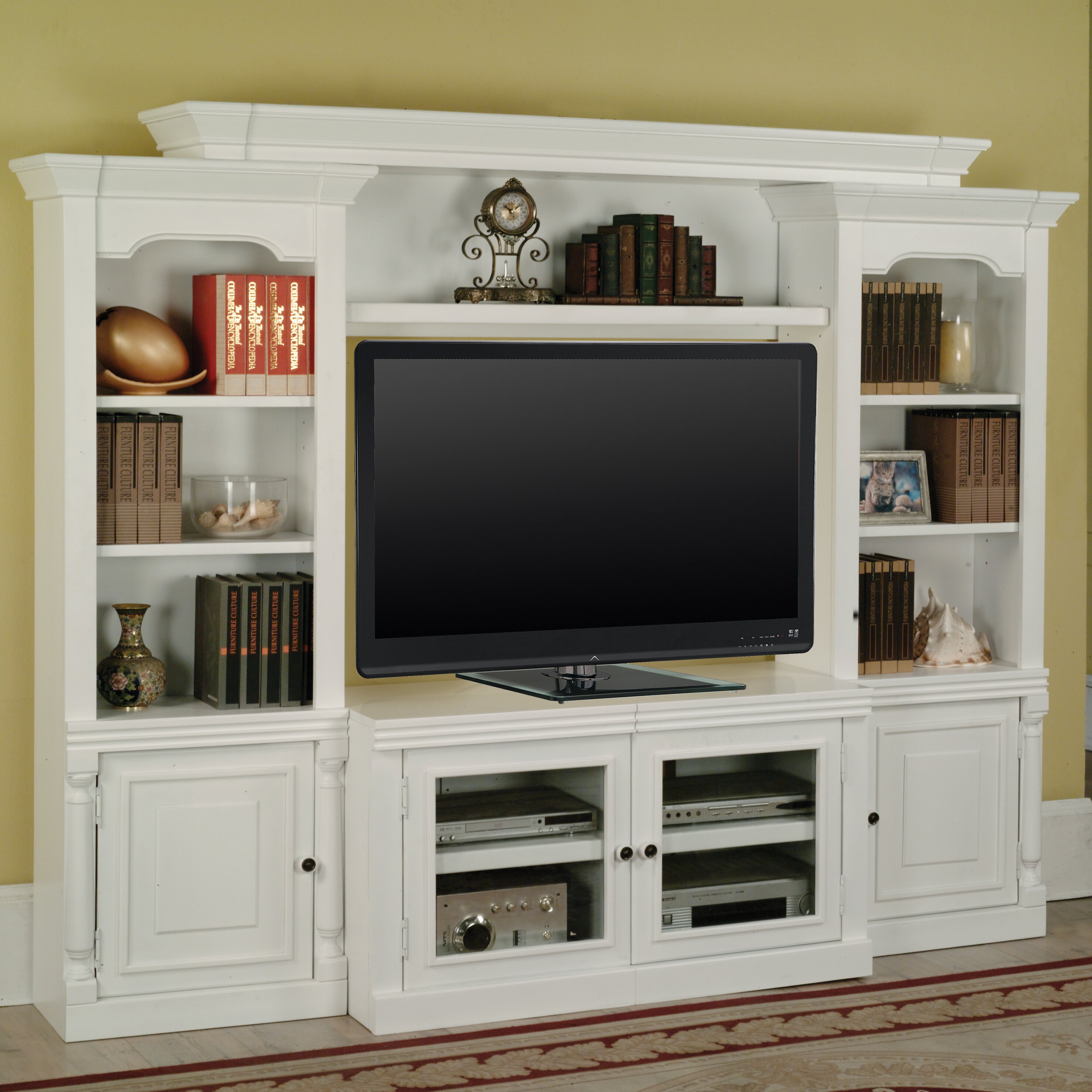 Darby Home Co Centerburg Entertainment Center For Tvs Up To 65 Reviews Wayfair