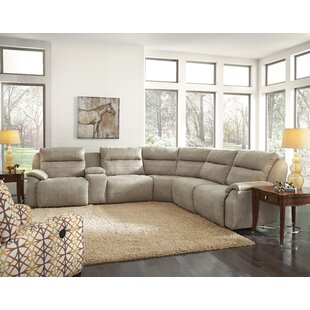 Five Star Reclining Sectional Southern Motion