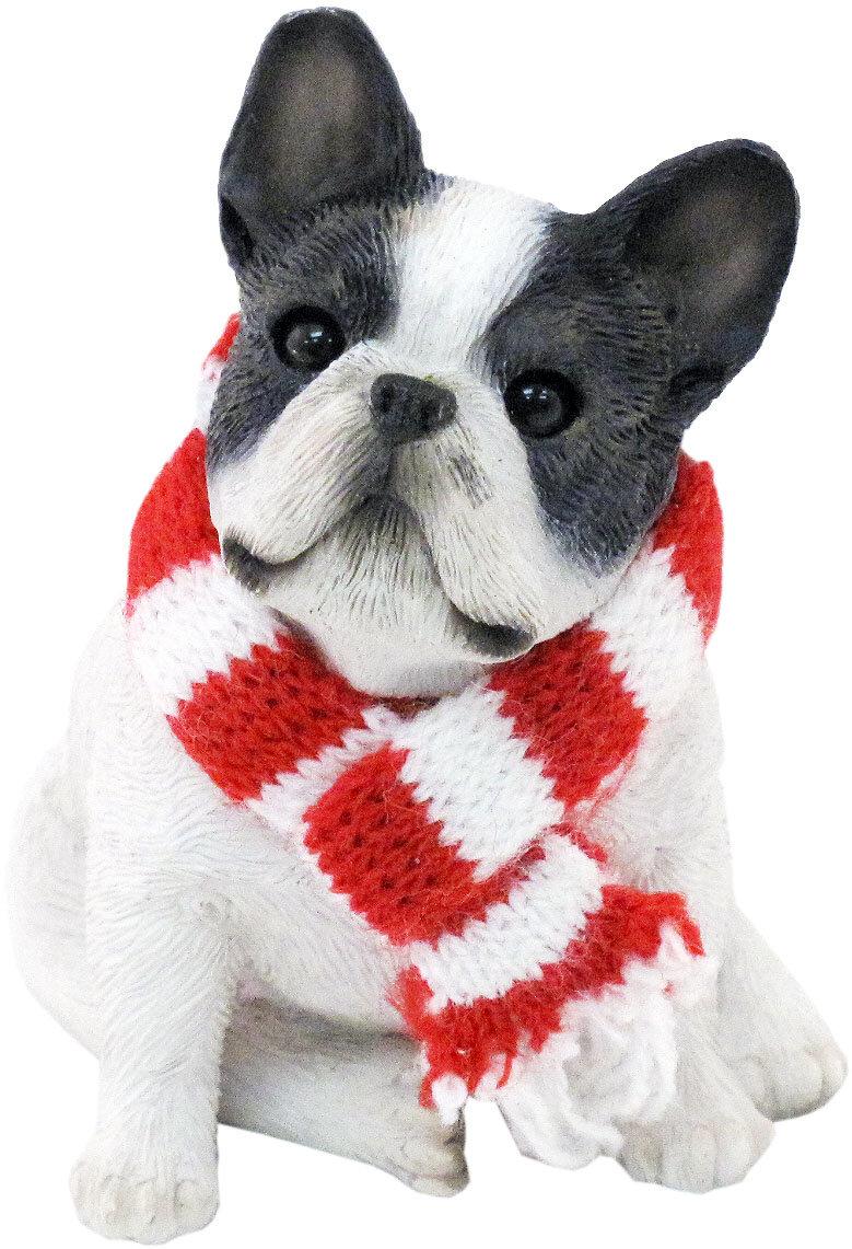 French Bulldog Christmas Ornament.Brindle French Bulldog Christmas Ornament